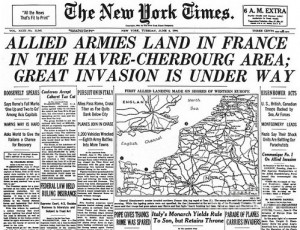 wwii-d-day-newspaper-1944-granger